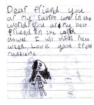 Madeleine letter