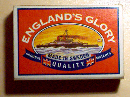 Englands glory made in sweden